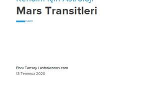 Mars Transitleri ve Transit Mars Koç Burcunda