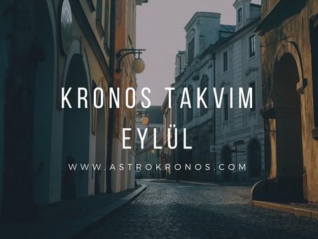 Kronos Takvim Eylül Ayı Eklendi