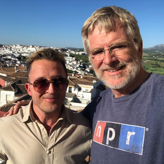 With Rick Steves, June 2018