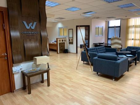 Charm-wood office in Israel. ברוכים הבאים!