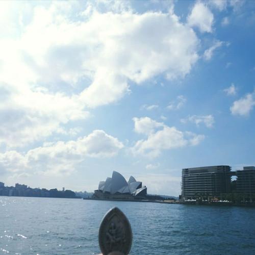 La médaille de Saint-martin à Sydney