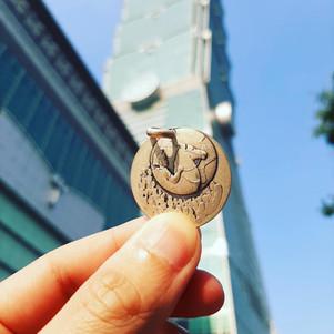 Médaille de Martin à Taiwan