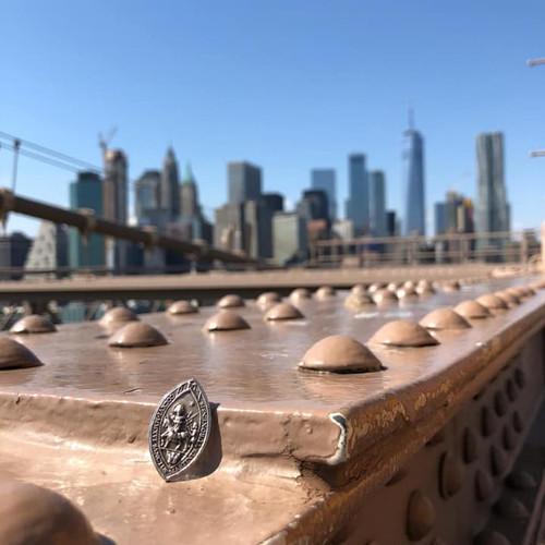 La médaille de Saint-martin à Brooklyn !
