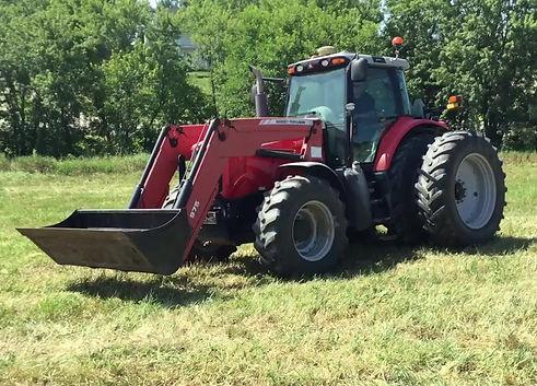 2009 Massey Ferguson 7485 MFWD Tractor Loader