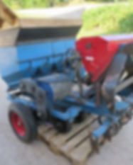 2005 Haarby HSK 97 4 Row Onion planter w