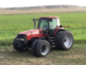 2001 Case IH MX240 Magnum 4X4 Tractor.jp