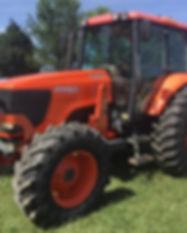 2005 Kubota M125X MFWD Tractor Loader 9.