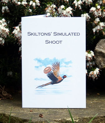 Simulated game card, shoot card, game shooting, bespoke cards, game cards