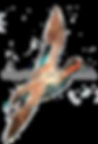 Teal duckin fight game shooting shoot cards original artwork