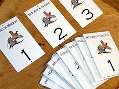 metal weatherproof peg card, peg sign, shoot, pheasant peg card