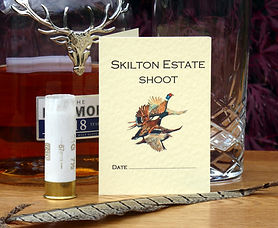 bespoke,personalised, shoot cards, shooting cards, game, bag, drives, quarry, pheasant, duck, partridge, grouse