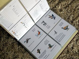 bespoke shoot card album record book storage file. game cards, shoot cards, pheasant shoot