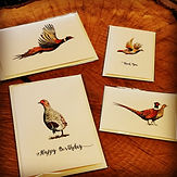 pheasant card, game bird card, gamebird card, shoot card, pheasant gift card, wedding card, pheasant wedding, pheasant greeting card, pheasant artwork, gamebird artwork