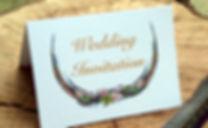 pheasant feather wedding invitation. bespoke shoot wedding stationery, shoot cards, game cards