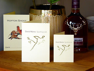 shoot card, game card, peg card, bespoke card, pheasant card, pheasant shoot, grouse shoot, duck shoot, partridge shoot, bespoke card, shoot stationery