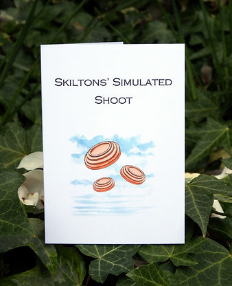 Simulated game cards, shoot cards, game shooting, bespoke cards, game cards, pheasant shooting