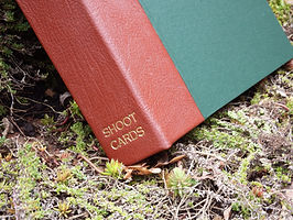 shoot card record album book file storage, game card, shoot card, pheasant shoot,