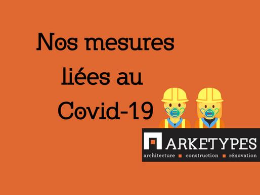 Nos mesures liées au Covid-19