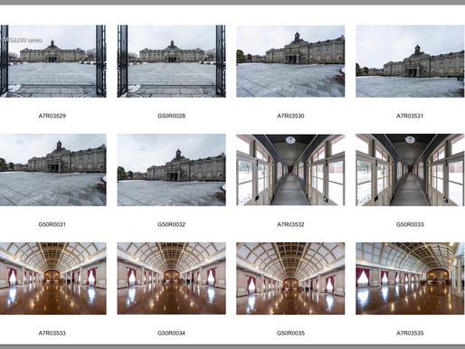 建築撮影機材(FUJIFILM GFX 50R)