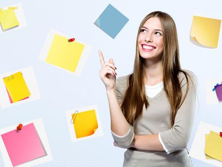 Para que servem os cartões lembretes e em que podem nos ajudar?