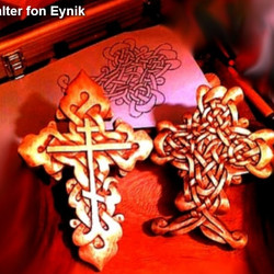 Hand carved crosses