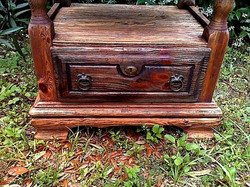 Rustic cabinet. Detail