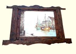 "Painting ""Riga tavern window"""