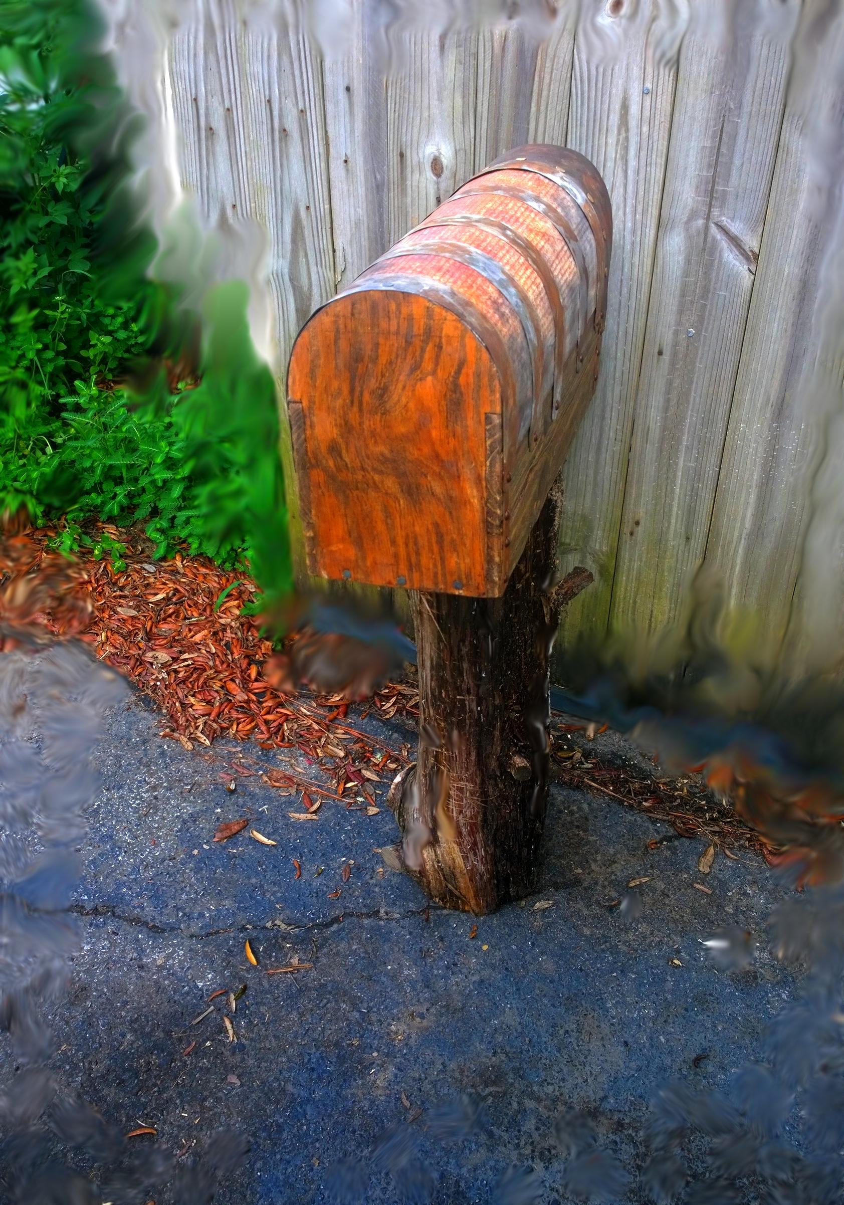 Rustic mailbx