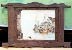 """Oil Painting """"Sea Freedom"""""""