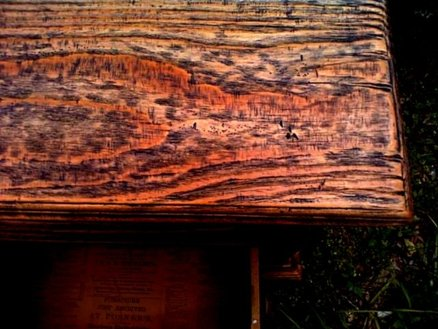 Replica of grandfather's cabinet