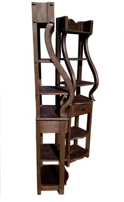 Italian style rustic stands