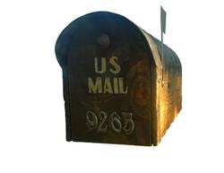 Rustic mailbox jumbo size