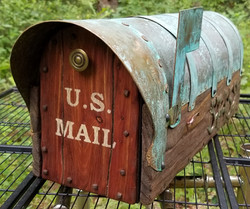 Mailbox With The Copper Roof