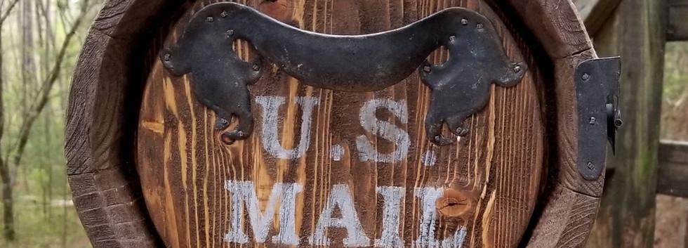 Hobbit mailbox door