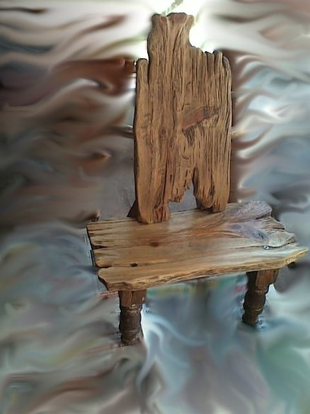 Child's chair from the fairy-tale