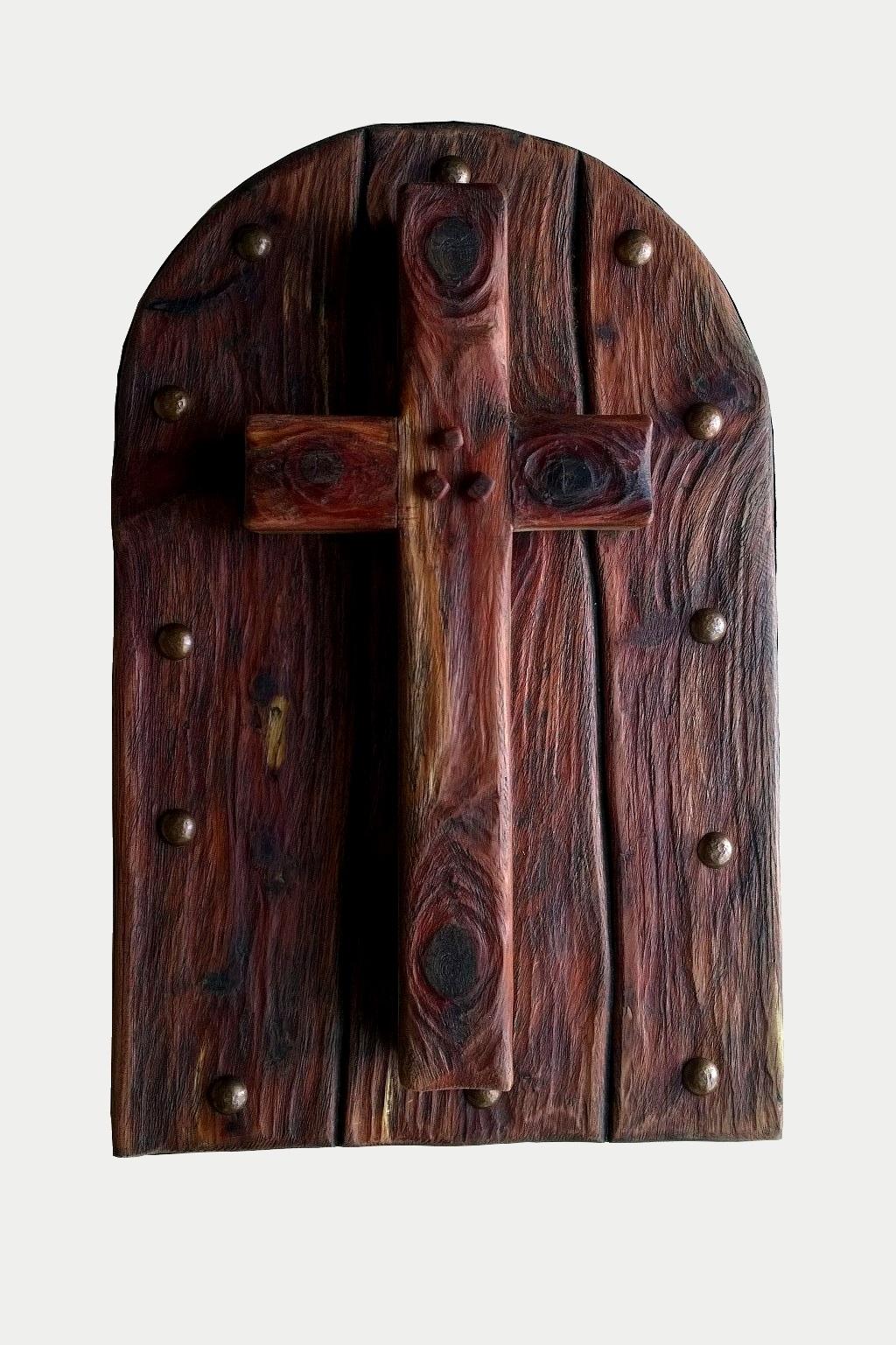 Cedar wall cross