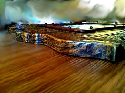 Rustic painting. Detail