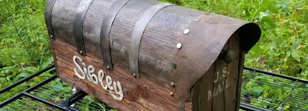 All Cedar Mailbox