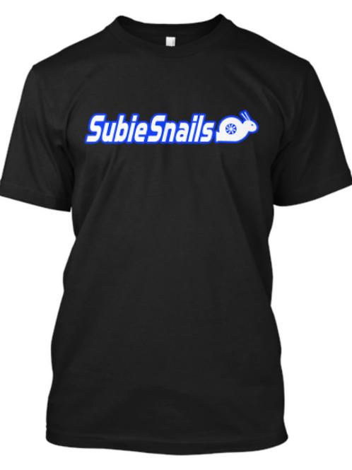 Snail Outline Blue