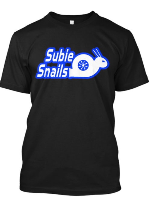 Snail Outline Blue Style 2