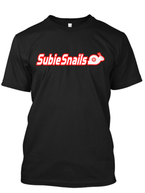Snail Outline Red