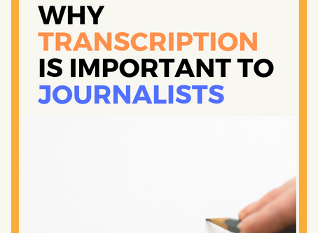 Why Reliable Transcription Tools are Important for Journalists?