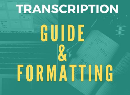 Umritun Transcription Style Guide