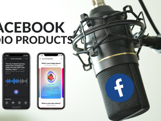 Podcast, Live Audio Rooms, and Soundbites are Coming To Facebook