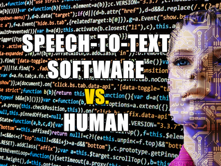 Speech to Text Software vs. Human Transcriber: Fight!