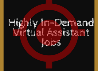 Most In-Demand Virtual Assistant Jobs