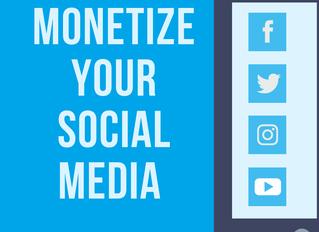 Monetizing Your Social Media Followings
