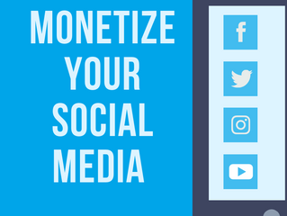 Monetizing Your Social Media Followings