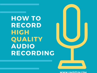How to Record High-Quality Audio Recordings for Accurate Transcription
