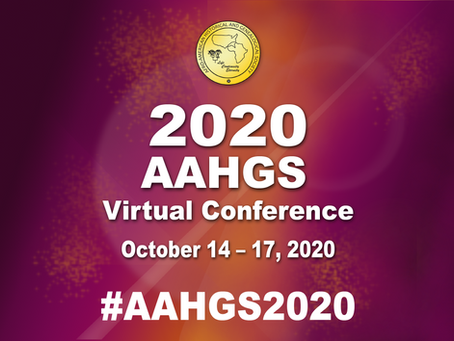AAHGS 2020 VIRTUAL Conference